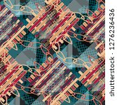 seamless pattern jewelry design....   Shutterstock . vector #1276236436