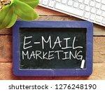 e mail marketing text concept   Shutterstock . vector #1276248190