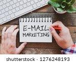 e mail marketing text concept   Shutterstock . vector #1276248193