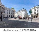 vienna  austria   may 2018 ... | Shutterstock . vector #1276254016
