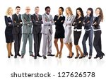 group of business people   Shutterstock . vector #127626578