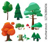 nature cartoon elements. game...