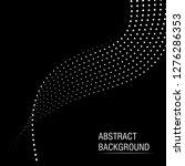 vector halftone dots abstract... | Shutterstock .eps vector #1276286353