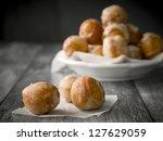 Small Homemade Doughnuts  Also...