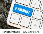 e payment text concept   Shutterstock . vector #1276291276
