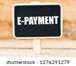 e payment text concept   Shutterstock . vector #1276291279