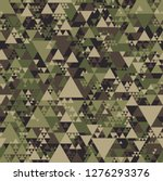 triangle camouflage seamless... | Shutterstock .eps vector #1276293376