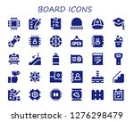 board icon set. 30 filled... | Shutterstock .eps vector #1276298479