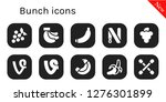 bunch icon set. 10 filled... | Shutterstock .eps vector #1276301899