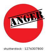 anger advertising sticker ... | Shutterstock .eps vector #1276307800