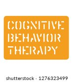 cognitive behavior sign on...   Shutterstock .eps vector #1276323499