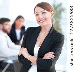 confident modern business woman | Shutterstock . vector #1276325983