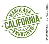 california marijuana. quality... | Shutterstock .eps vector #1276334083