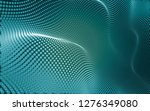 abstract polygonal space low... | Shutterstock . vector #1276349080