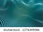 abstract polygonal space low... | Shutterstock . vector #1276349086
