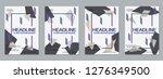 modern business flyer  booklet  ... | Shutterstock .eps vector #1276349500
