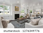 beautiful living room and... | Shutterstock . vector #1276349776