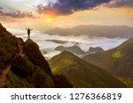 Wide Mountain Panorama. Small...