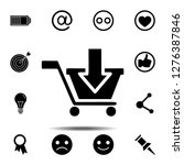 put in shopping cart icon....