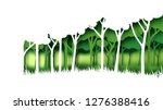 eco green nature forest... | Shutterstock .eps vector #1276388416