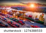logistics and transportation of ... | Shutterstock . vector #1276388533