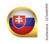 flag of slovakia  location map... | Shutterstock .eps vector #1276400599