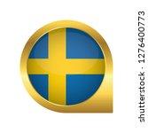 flag of sweden  location map... | Shutterstock .eps vector #1276400773