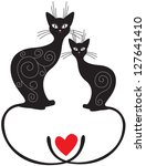 A Pair Valentine Of Cats...
