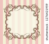 antique  barrack style frames ... | Shutterstock .eps vector #1276421959