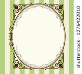 antique  barrack style frames ... | Shutterstock .eps vector #1276422010