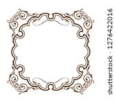 antique  barrack style frames ... | Shutterstock .eps vector #1276422016