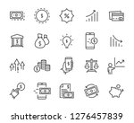 set of money icons  such as... | Shutterstock .eps vector #1276457839