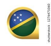 flag of solomon islands ... | Shutterstock .eps vector #1276471060