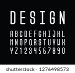 vector of stylized abstract... | Shutterstock .eps vector #1276498573