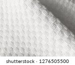 close up beautiful white cloth...   Shutterstock . vector #1276505500