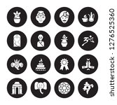 16 vector icon set   kumbh... | Shutterstock .eps vector #1276525360