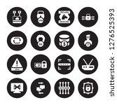 16 vector icon set  ... | Shutterstock .eps vector #1276525393