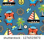seamless pattern vector of... | Shutterstock .eps vector #1276525873