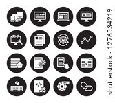 16 vector icon set   responsive ... | Shutterstock .eps vector #1276534219