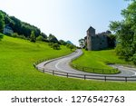 beautiful architecture at vaduz ... | Shutterstock . vector #1276542763