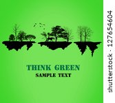 think green | Shutterstock . vector #127654604