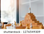 chess is above on top the... | Shutterstock . vector #1276549309