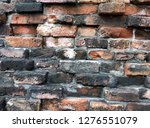 photo background image of old...   Shutterstock . vector #1276551079