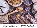 Healthy Snacks. Dietary Food....