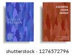 modern cover design template... | Shutterstock .eps vector #1276572796