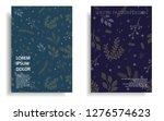 modern cover design template... | Shutterstock .eps vector #1276574623
