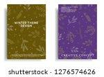 modern cover design template... | Shutterstock .eps vector #1276574626