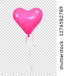 valentines day balloon.... | Shutterstock .eps vector #1276582789
