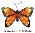 illustration of a butterfly on...