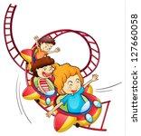 illustration of three children...